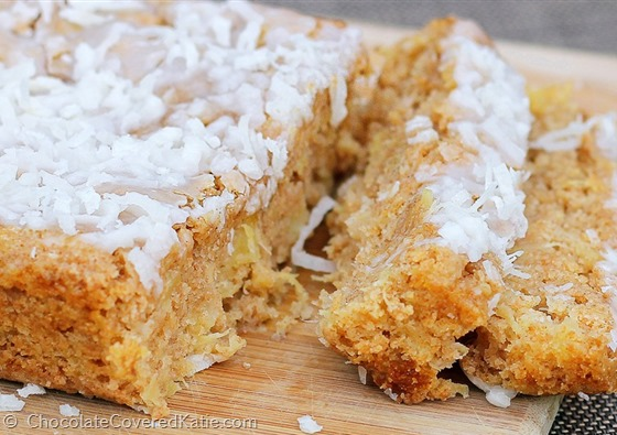 healthy coconut cake