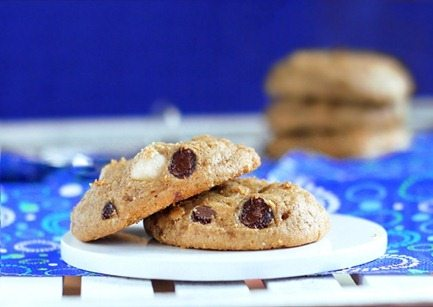 Fourth of July chocolate chip cookies
