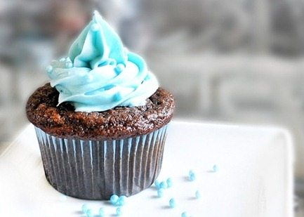 fourth of July blueberry cupcakes