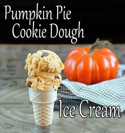 It's pumpkin AND cookie dough, so it's pretty much guaranteed to be awesome!