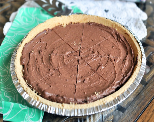 tofu chocolate pie