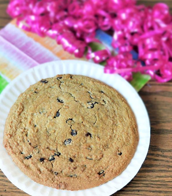 vegan cookie cake