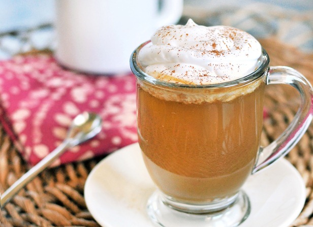 Healthy Pumpkin Spice Latte - NO Corn Syrup!