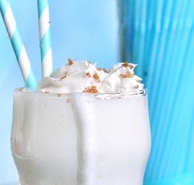 vegan peanut butter milkshake
