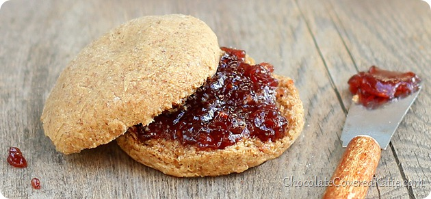 Peanut Butter & Jelly Biscuits
