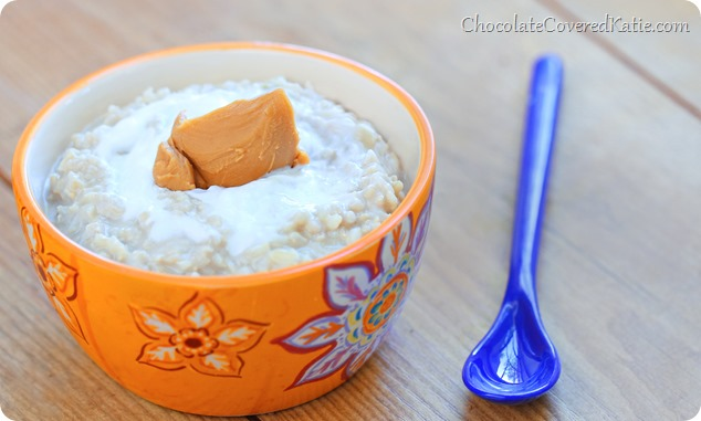 PB Rice Pudding