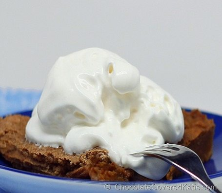 healthy whipped cream