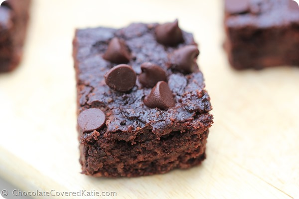 Black Bean Brownies - No Flour Required