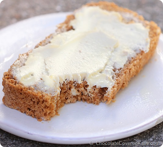 6 Ingredient Beer Bread - really easy to make, and goes well with everything! http://chocolatecoveredkatie.com/2014/09/01/beer-bread-recipe/