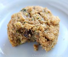 Super Healthy Chocolate Chip Zucchini Bread Muffins
