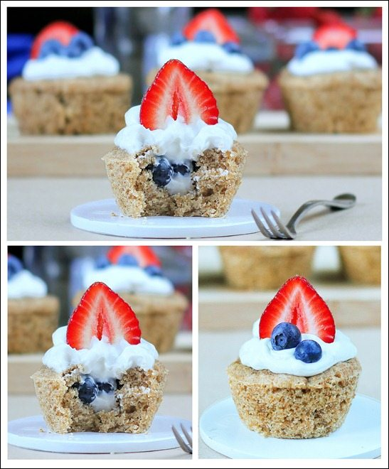 Happy Fourth Of July Cupcakes