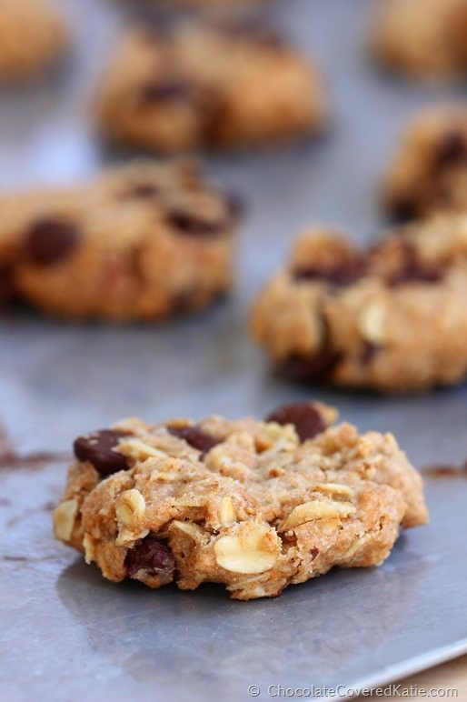 Chocolate Chip Cowboy Cookies: http://chocolatecoveredkatie.com/2014/12/01/chocolate-chip-cowboy-cookies/