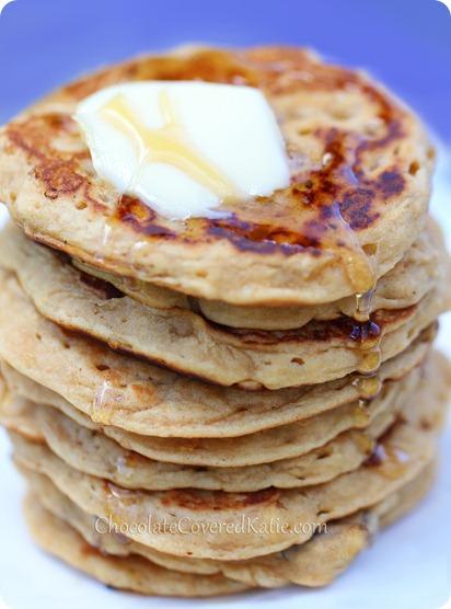 Oatmeal Pancakes - Whole Grain & Healthy