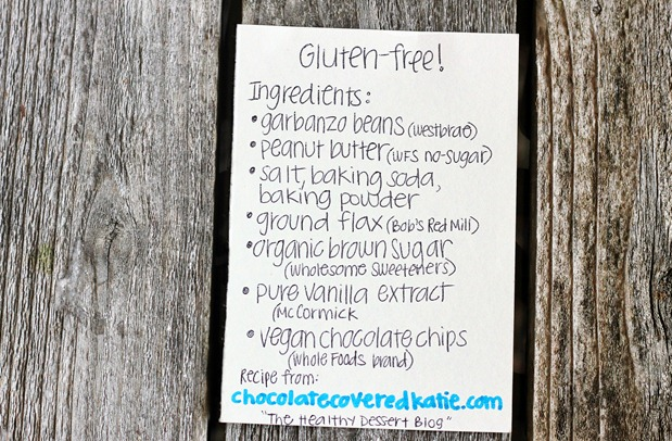 gluten free ingredients