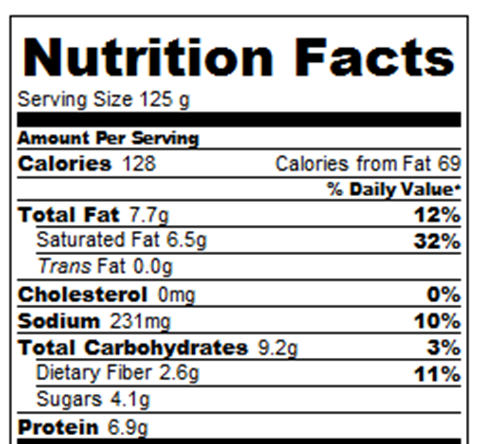 Banana Pudding Calories And Nutrition Facts Chocolate