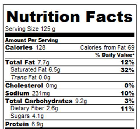 banana pudding calories