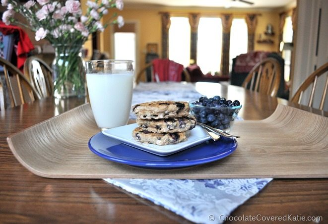 blueberry pie pancakes