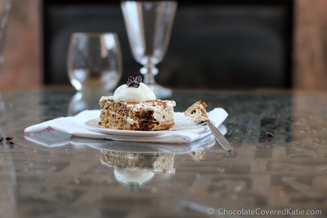 Tiramisu that is actually GOOD for you!