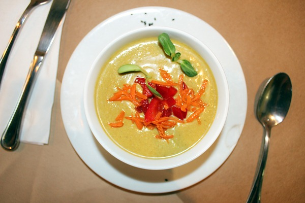 raw coconut soup
