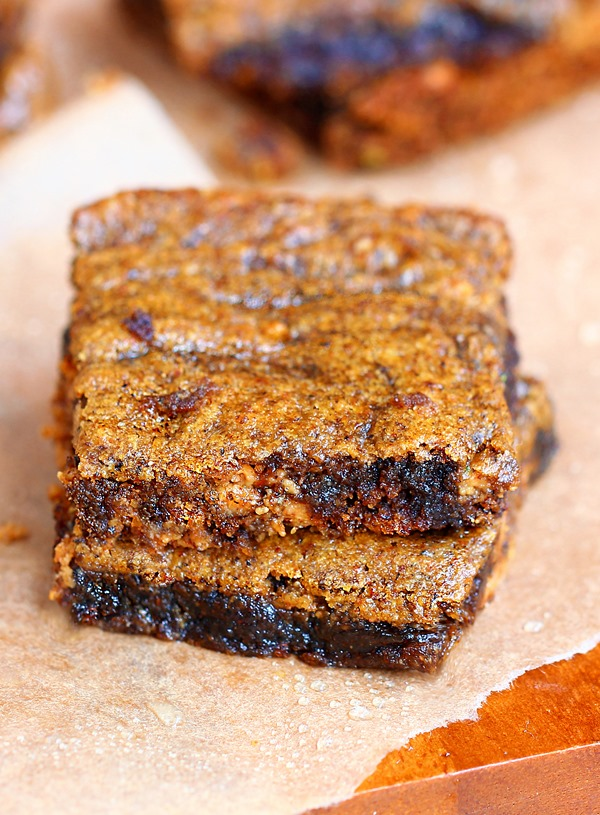 SO EASY to make - ooey gooey brown sugar bars... they melt in your mouth! http://chocolatecoveredkatie.com @choccoveredkt