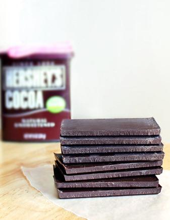 Homemade Chocolate Bars - just 3 ingredients!