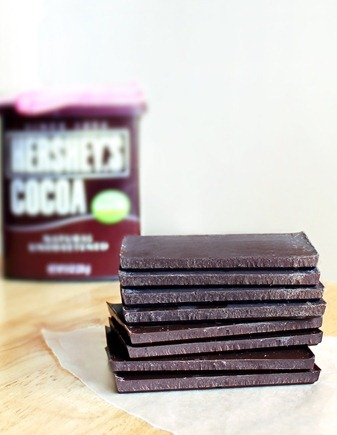 Homemade Chocolate Bars - Just 3 ingredients & YOU get to control the amount of sugar / or keep it sugar-free: http://chocolatecoveredkatie.com/2012/01/15/three-ingredient-chocolate-bars-1/ @choccoveredkt