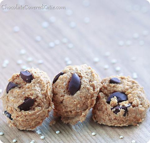 Chocolate Chip Quinoa Cookies - {NO flour!}