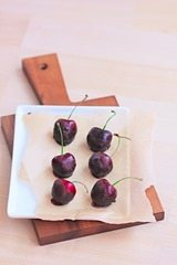 Chocolate Cherry: http://www.chocolatecoveredkatie.com/