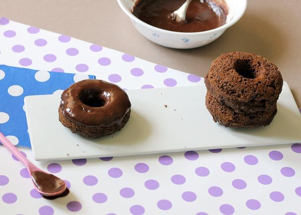 Vegan Chocolate Doughnuts