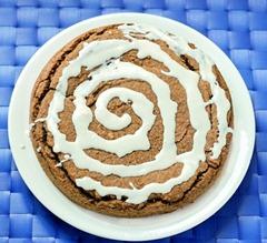 cinnamon roll pie