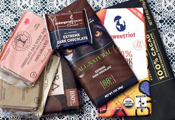 vegan chocolate bars