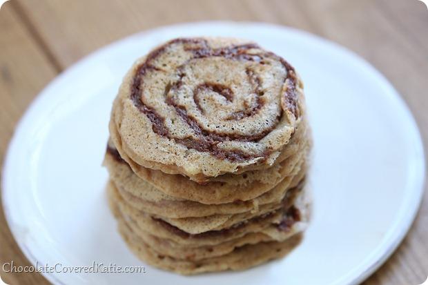 Cinnamon Bun Pancakes
