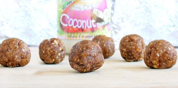 coconut cookie dough balls