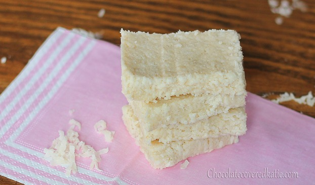 5 Minute Coconut Crack Bars