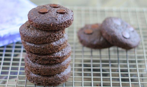 Copycat Chocolate Brownie Vitamuffin Tops.
