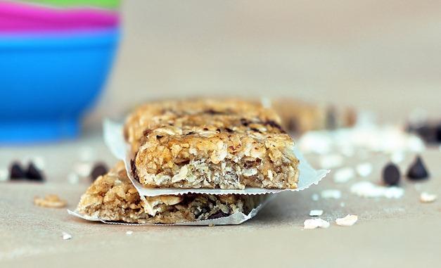 homemade granola bars