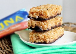 homemade luna bars
