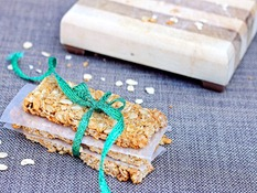 homemade nature valley granola bar