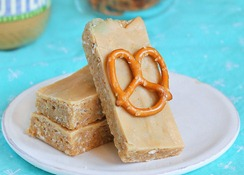 homemade peanut butter luna bars