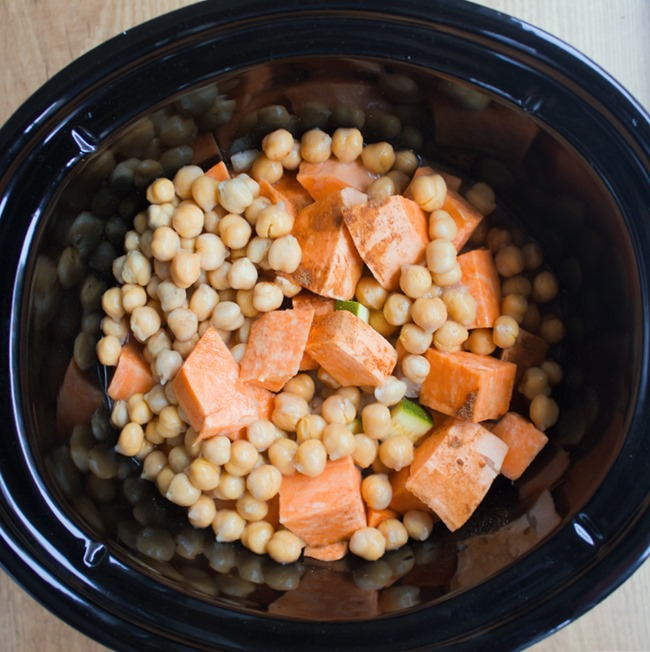 sweet potato chili slow cooker