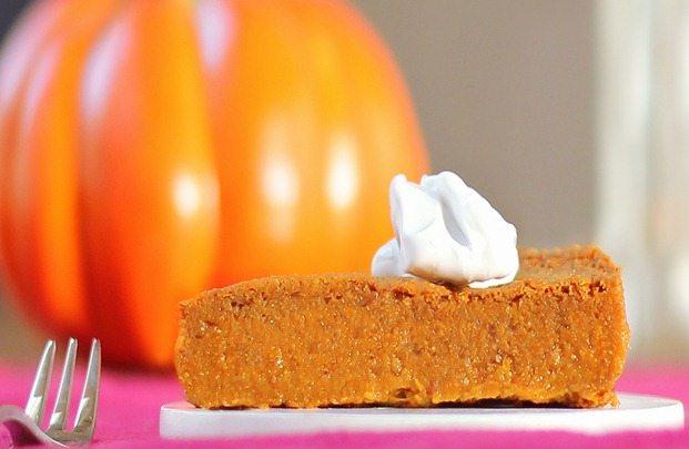 Crustless Pumpkin Pie!
