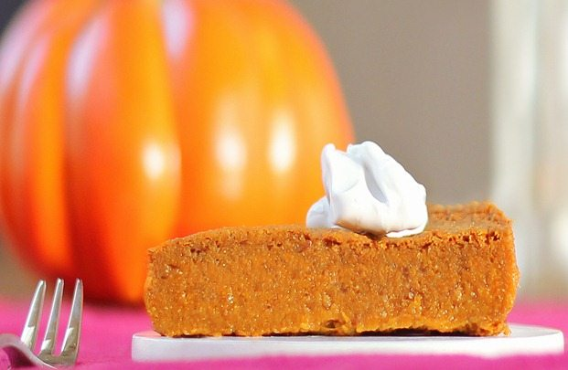 Crustless Pumpkin Pie!