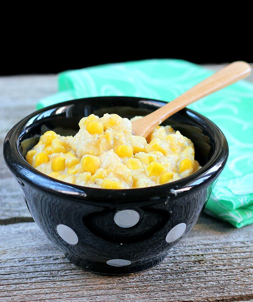 Healthy Corn Casserole - We make this recipe every year for the holidays... it is just as delicious as traditional corn casserole, and no one can ever guess it isn't full of butter and fat! http://chocolatecoveredkatie.com/2012/06/22/healthy-corn-casserole/ @choccoveredkt