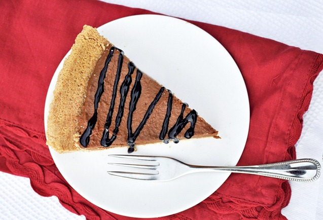 No-Bake Chocolate Bottom Pumpkin Tart Recipe — Dishmaps