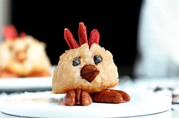 chick macaroons