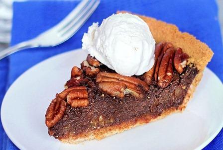 healthy pecan pie