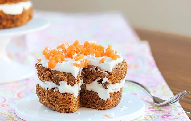 mini carrot cake