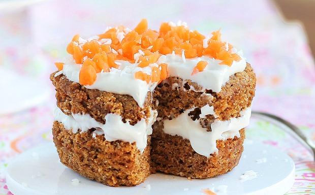 Single Serving Carrot Cake Recipe