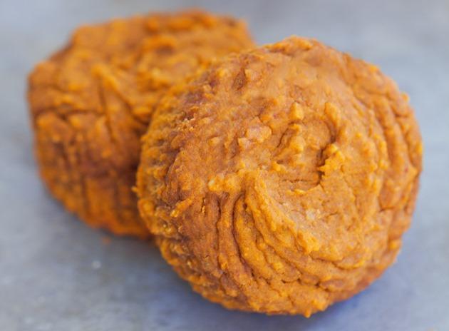 flourless pumpkin muffins