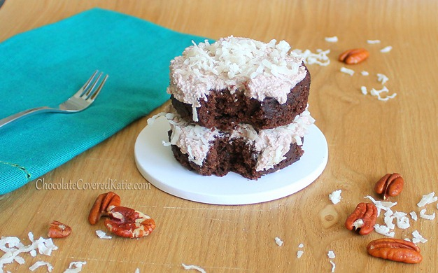 healthy german chocolate cake